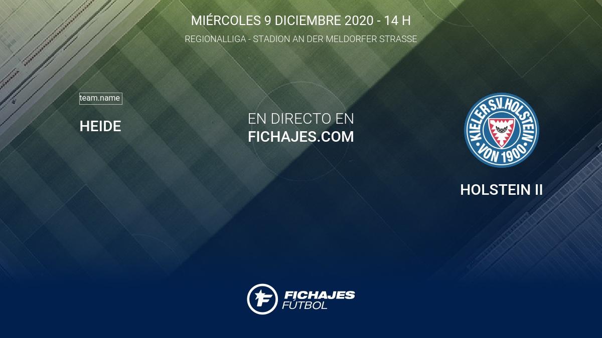Heide Vs Holstein Ii Partido En Directo 18ª Jornada De Regionalliga 2020 2021 9 12