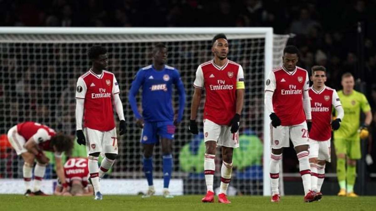 El Arsenal sumaba una dura derrota