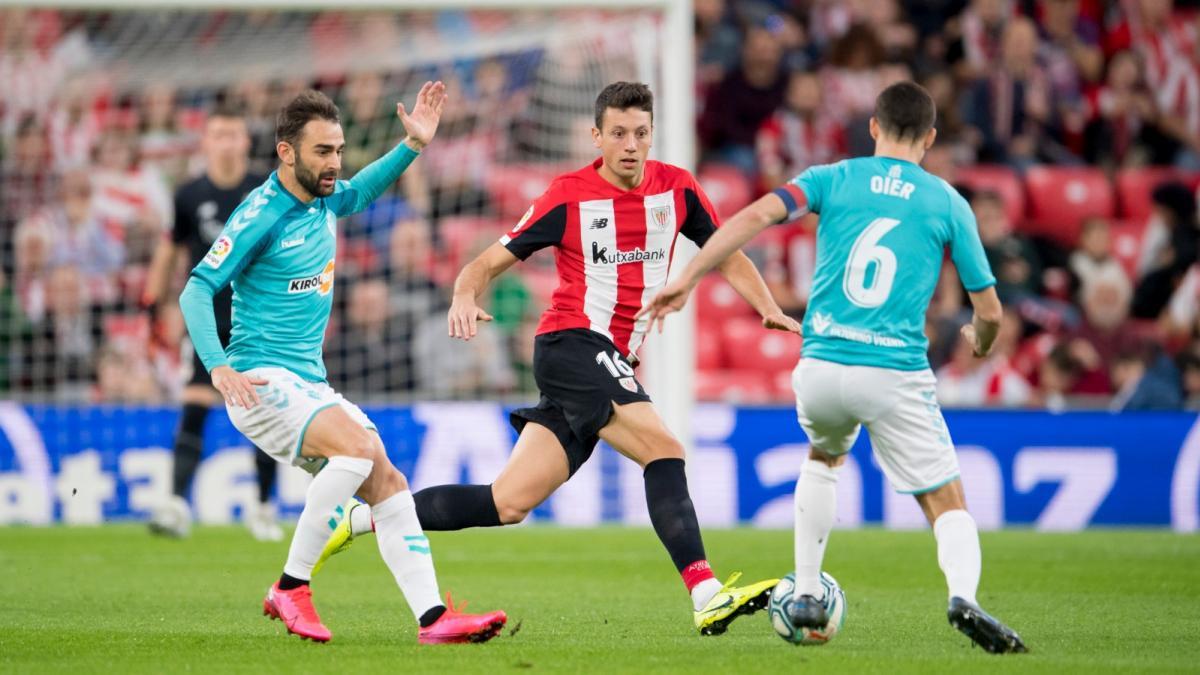 Athletic de Bilbao y Osasuna han jugado en San Mamés
