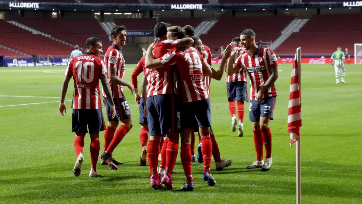 La lista del Atlético de Madrid para recibir al Eibar