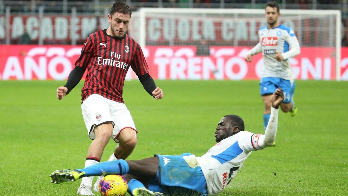Davide Calabria, una apuesta de futuro del AC Milan