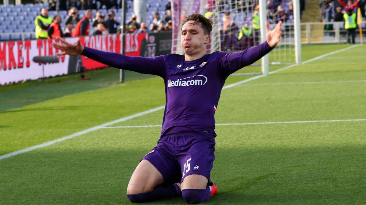 Federico Chiesa es prioritario para la Juventus