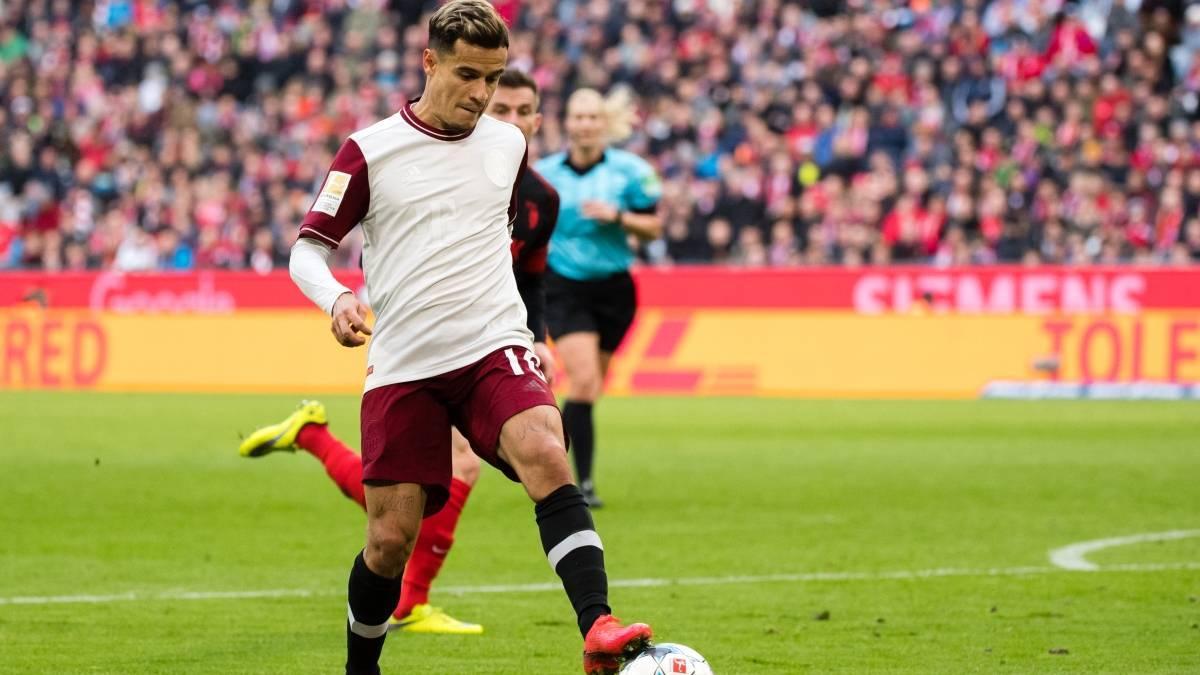 Philippe Coutinho sigue ganando confianza en el Bayern Múnich