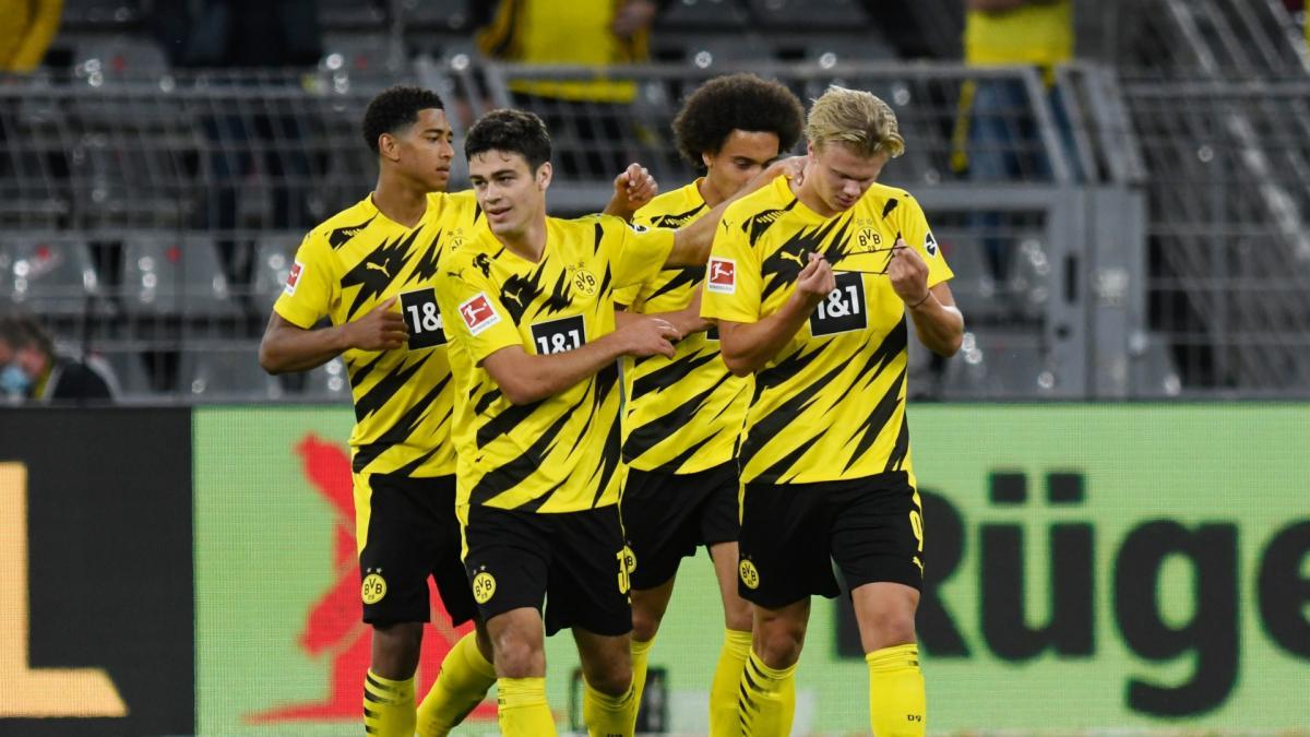 Gladbach Dortmund 2021