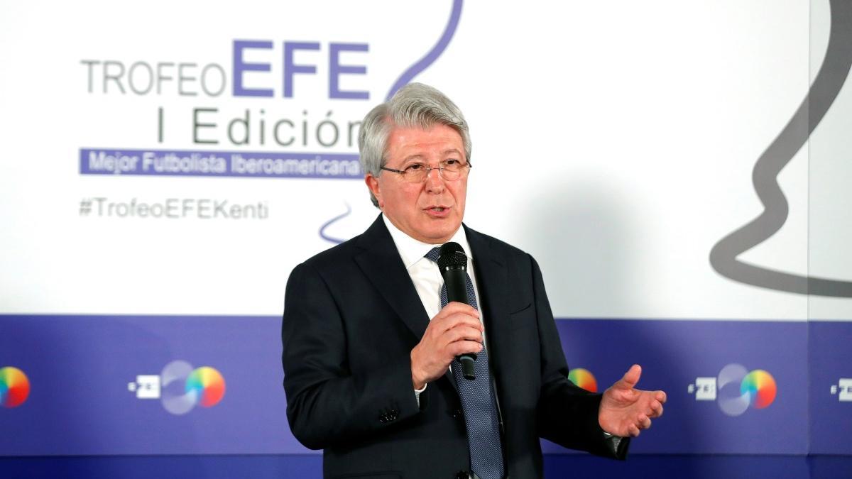 Enrique Cerezo ha hablado del Atlético de Madrid
