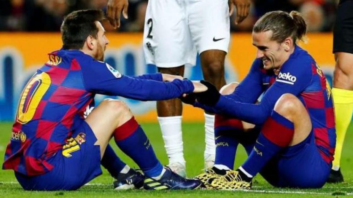 La sintonía entre Messi y Griezmann cada vez es mejor