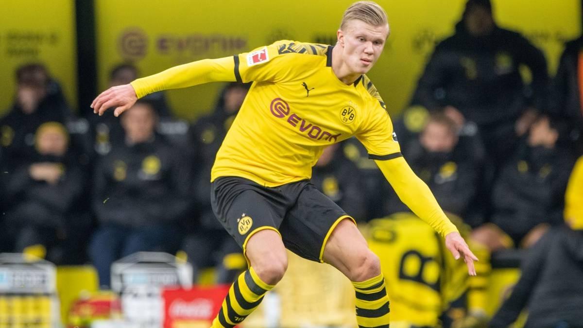 Haaland está encandilando a los aficionados del Borussia Dortmund