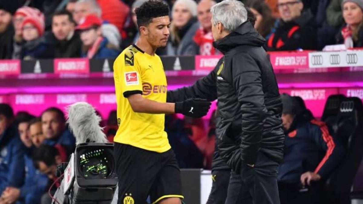 Jadon Sancho quiere salir del Borussia Dortmund