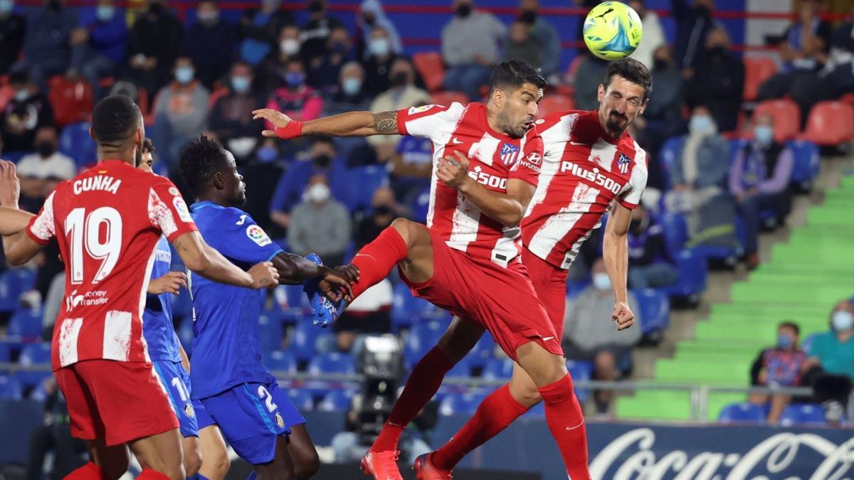 Liga   Luis Suárez rescata al Atlético de Madrid en Getafe - Fichajes.com