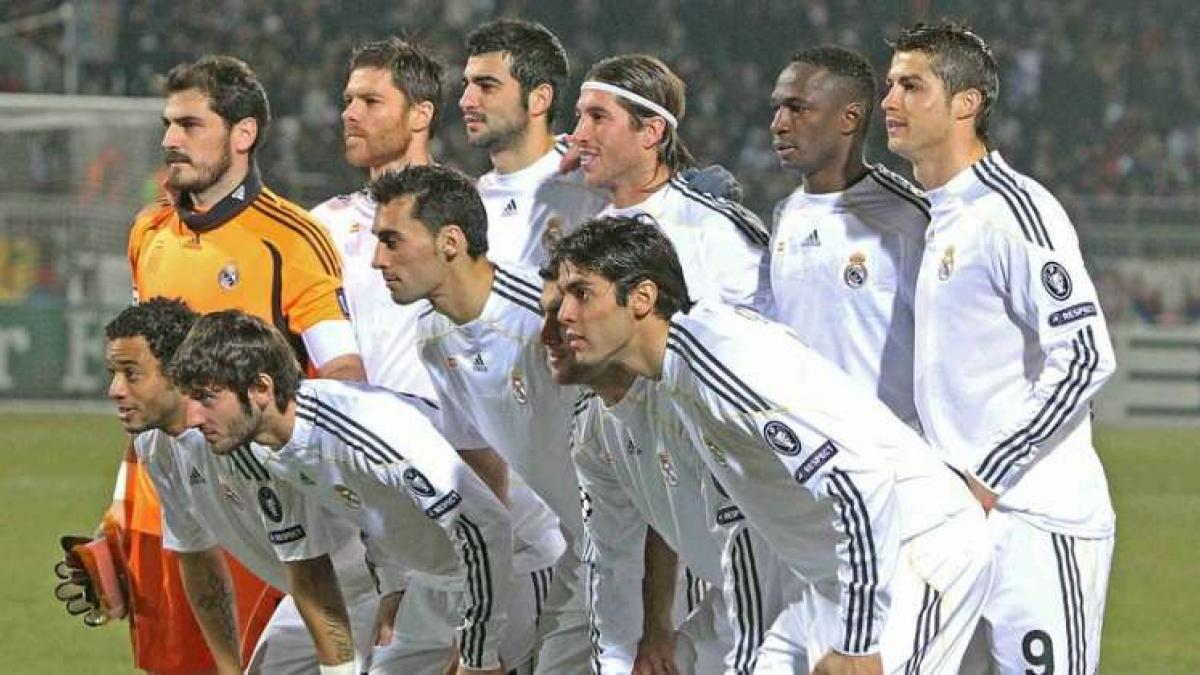 La galáctica plantilla del Real Madrid se queda sin títulos