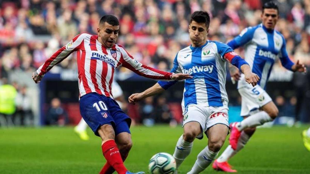 Atlético y Leganés han firmado un partido disputado