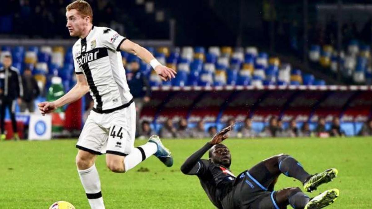 Dejan Kulusevski está cedido en el Parma por el Atalanta