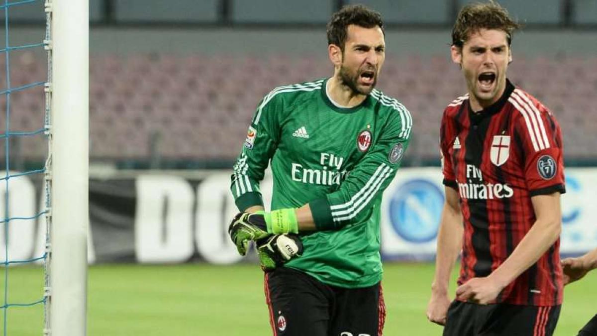 Diego López ha perdido la titularidad en el AC Milan