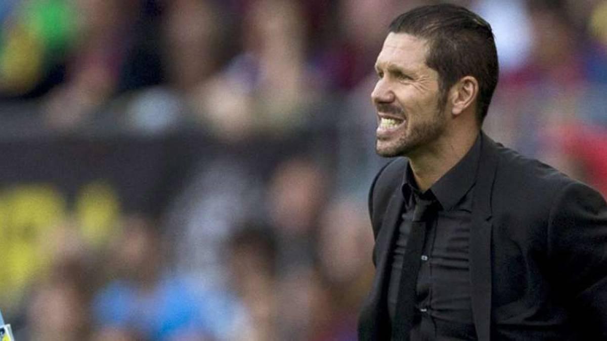 Diego Simeone quiere mejorar las prestaciones de su ataque