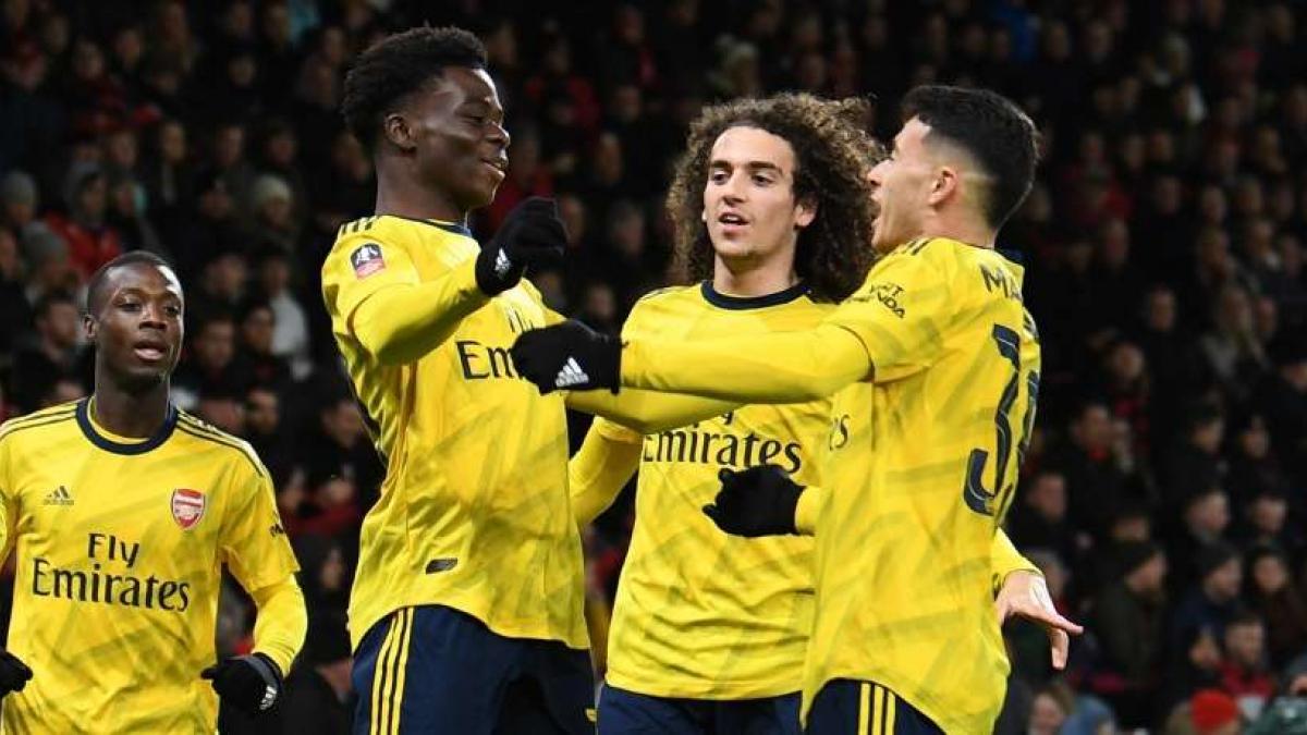El Arsenal ha logrado su pase a la siguiente ronda de la FA Cup