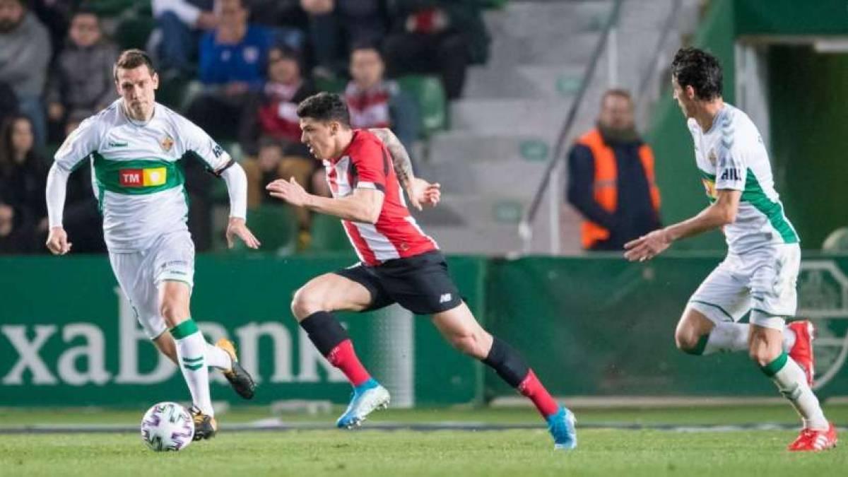 El Athletic de Bilbao ha medido sus fuerzas con las del Elche