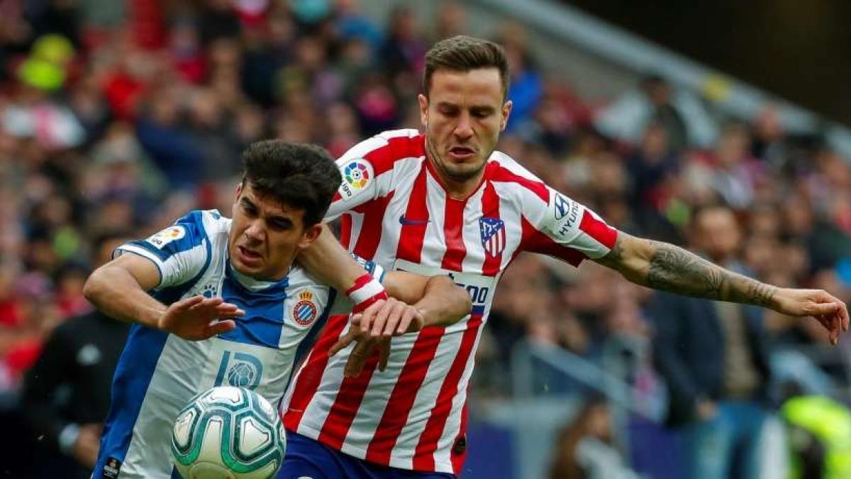 El Atlético de Madrid buscaba la victoria ante el Espanyol