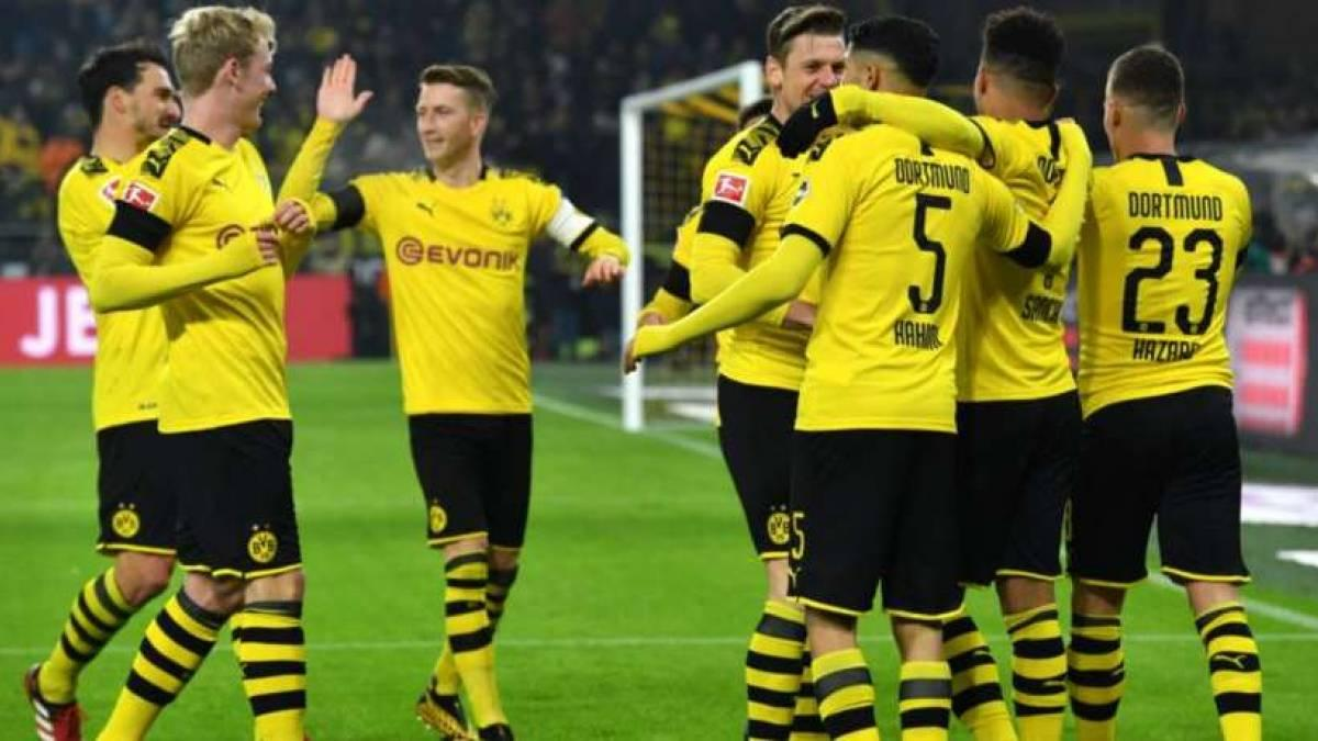 El Borussia Dortmund no tuvo problemas para superar al Colonia