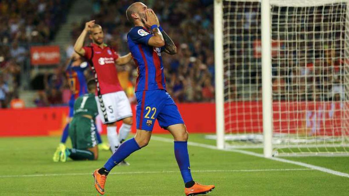 El cuadro culé busca ya salida para Aleix Vidal