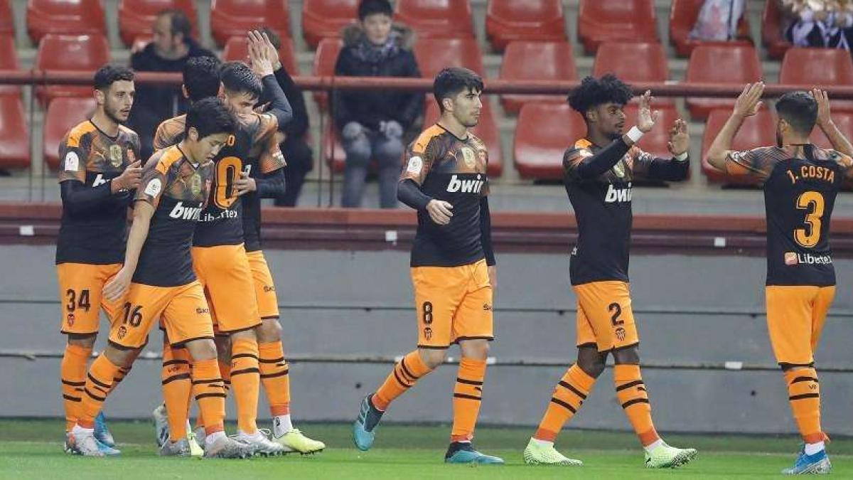 El Valencia estará en los octavos de final de la Copa del Rey