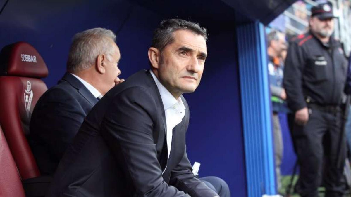 Ernesto Valverde, imperial con el FC Barcelona en LaLiga