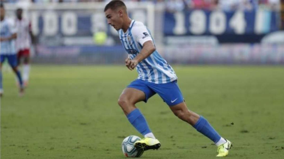Hugo Vallejo dice adiós al Málaga