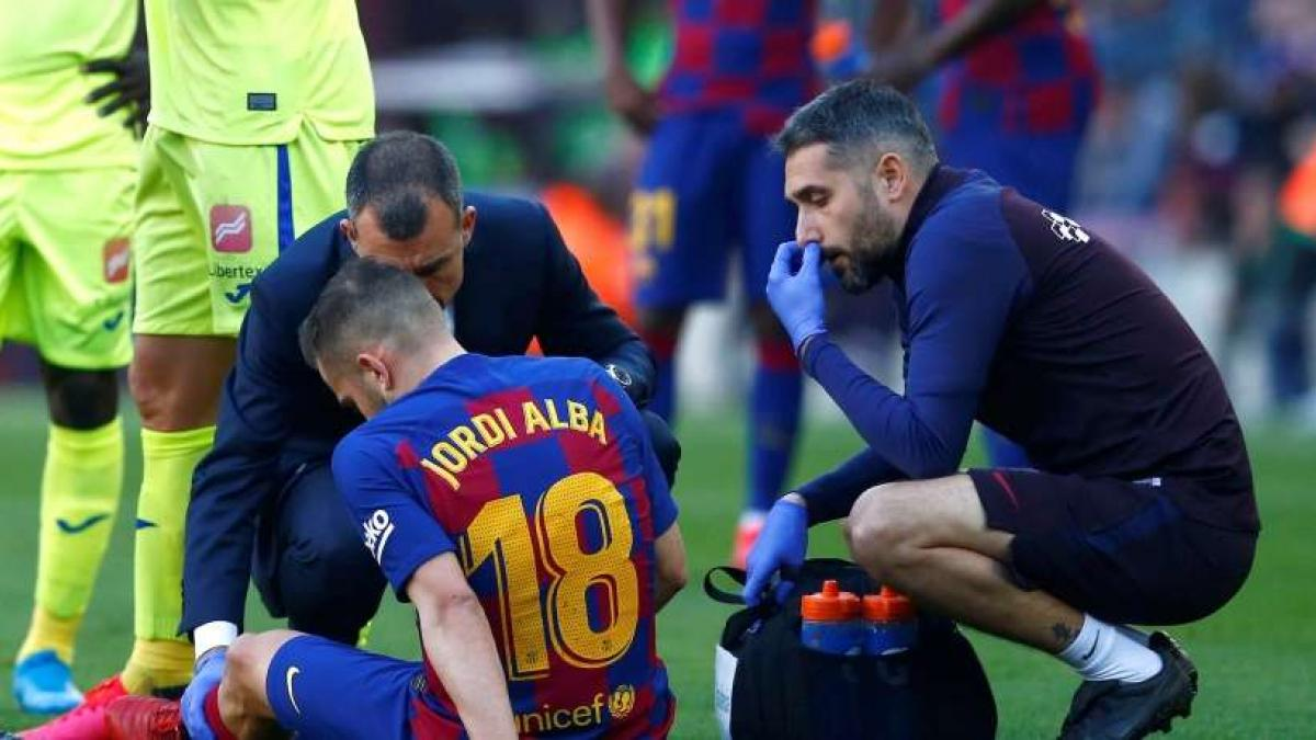 Jordi Alba no termina de levantar cabeza en el FC Barcelona