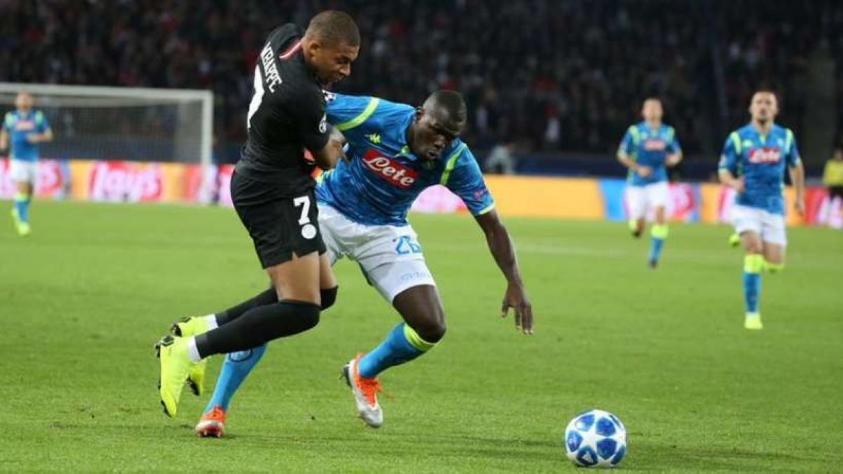 Koulibaly y Mbappé pueden compartir equipo