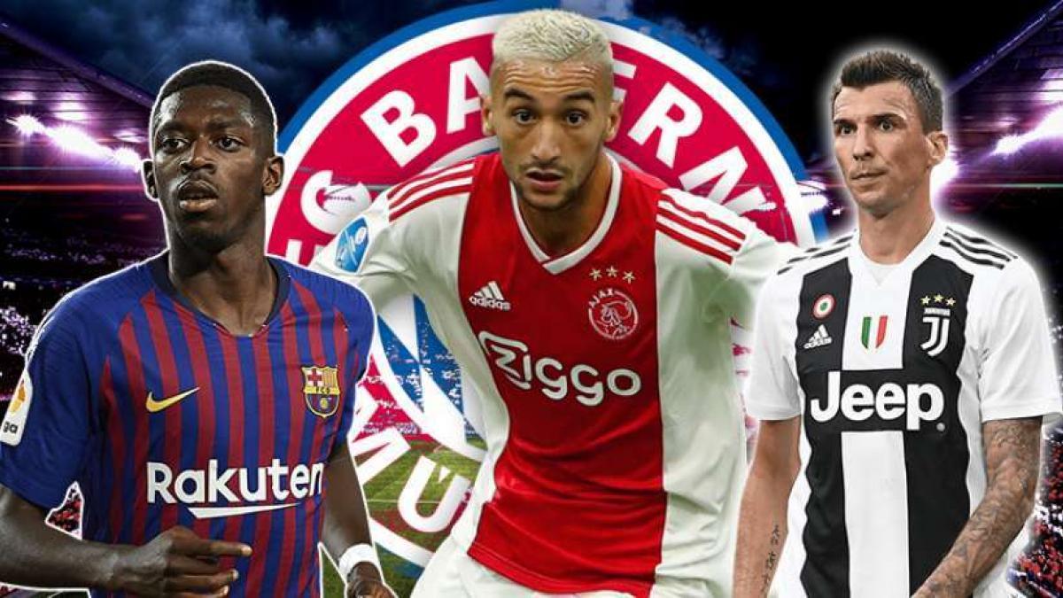 Los deseos del Bayern de Múnich en el mercado