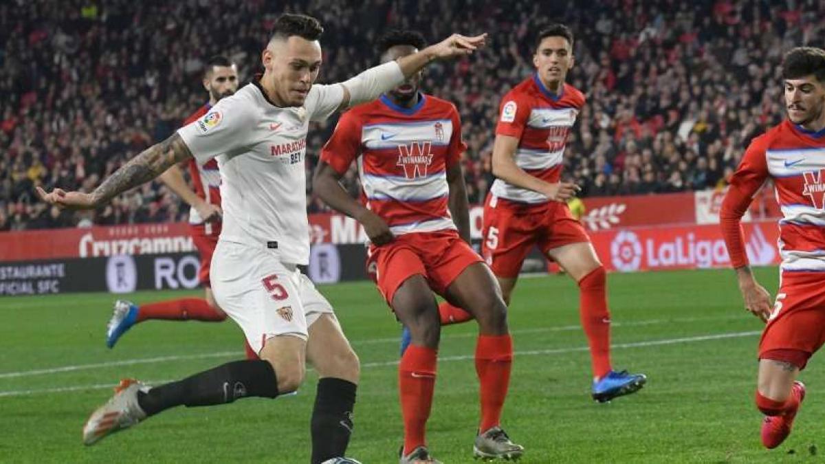 Lucas Ocampos es una de las estrellas del Sevilla