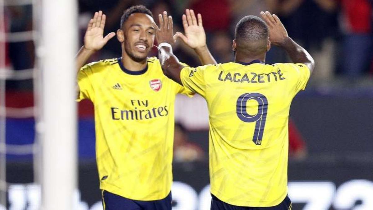 Pierre Emerick Aubameyang es uno de los pilares ofensivos del Arsenal
