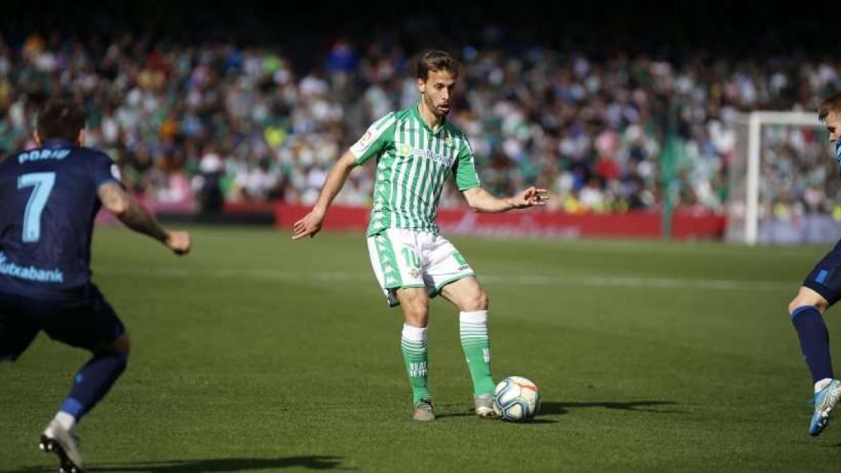 Sergio Canales ha recuperado la confianza en el Real Betis