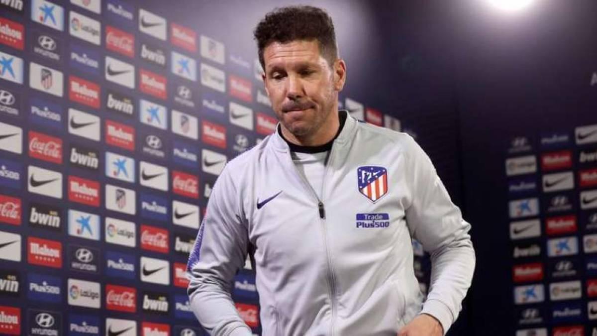 Simeone quiere recuperar sensaciones en Champions