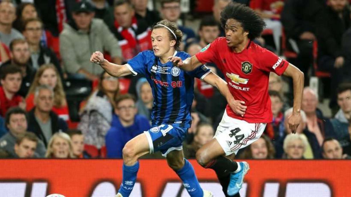 Tahith Chong es uno de los grandes talentos del Manchester United