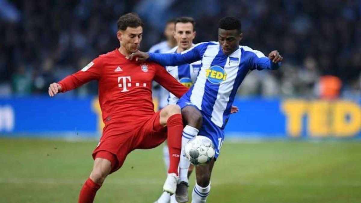 Triunfo contundente del Bayern Múnich en Berlín