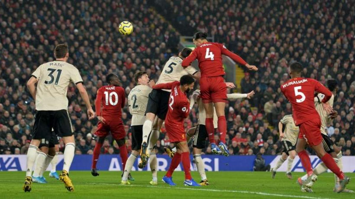 Virgil van Dijk ha inaugurado el marcador con un cabezazo inapelable