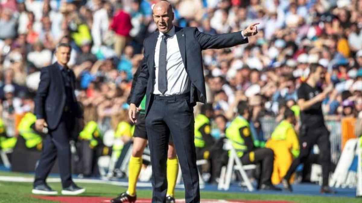 Zinedine Zidane tiene un largo trabajo por delante