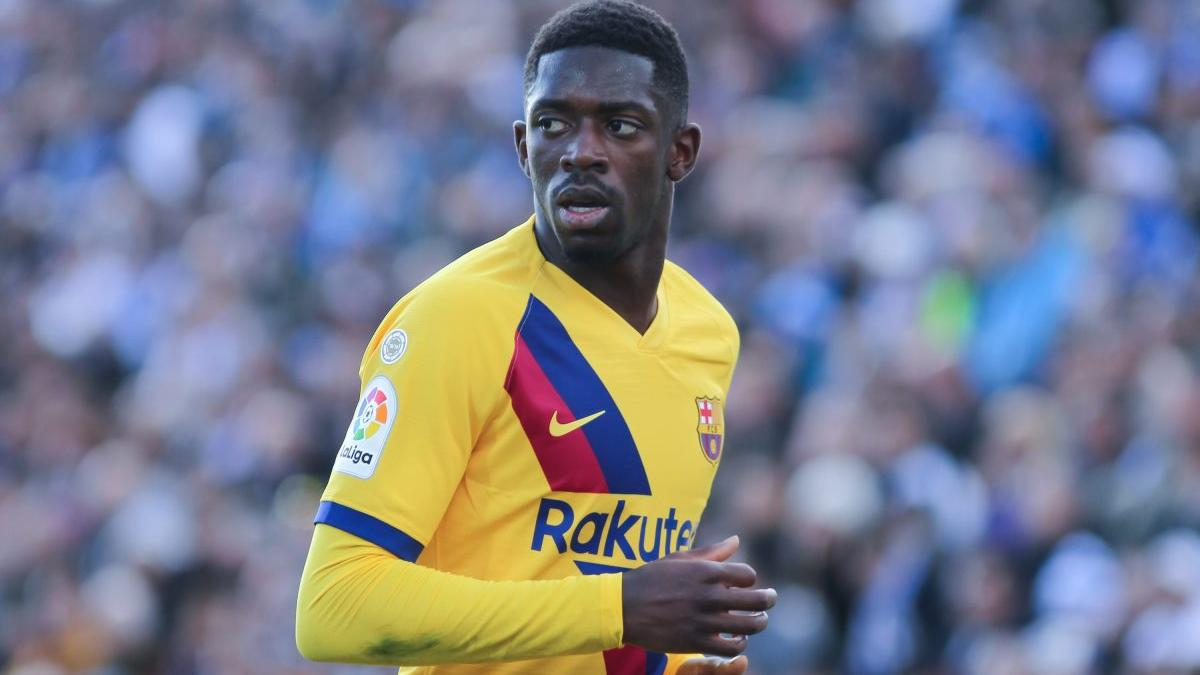 Ousmane Dembélé sigue lesionado
