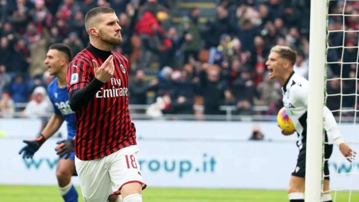 Ante Rebic ha cambiado su situación en Milán