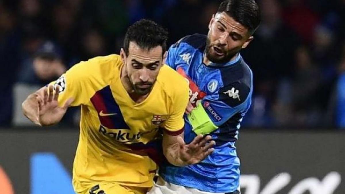 Sergio Busquets no jugará la vuelta