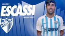 Alberto Escassi jugará en el Málaga
