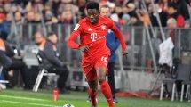 Alphonso Davies bate un récord de velocidad en la Bundesliga