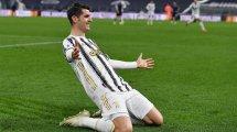 La Juventus de Turín amplía la cesión de Álvaro Morata