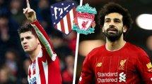 ¡Ya hay onces del Atlético de Madrid - Liverpool!