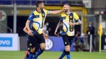 El Inter de Milán blinda a dos piezas