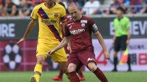 El guiño de Andrés Iniesta al FC Barcelona