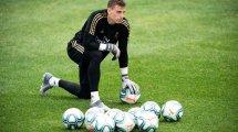 Andriy Lunin se moja sobre su vuelta al Real Madrid