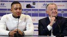 El Olympique de Lyon asume que Depay no será un buen negocio