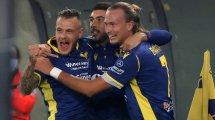 Giovanni Simeone llega cedido al Hellas Verona