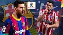 ¡Ya hay onces del FC Barcelona - Atlético de Madrid!